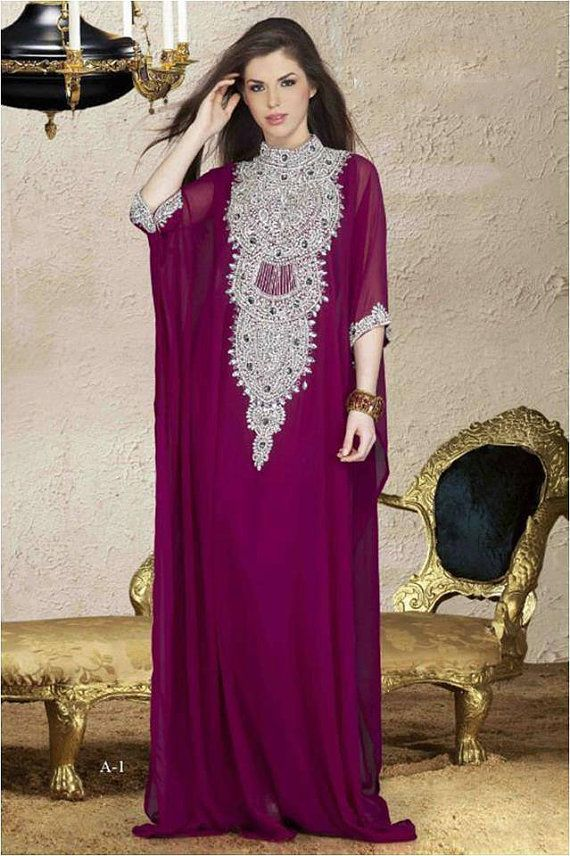 Dubai kaftan / Abaya very fancy for special occasion by AFROTREND ...