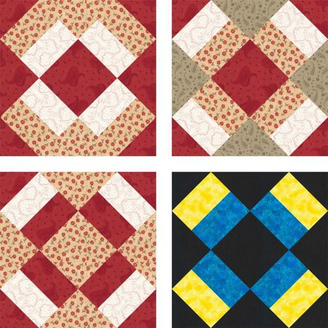 X's and O's Baby Quilt Pattern with Easy Sashing | Free quilt ... : free quilt pattern blocks - Adamdwight.com