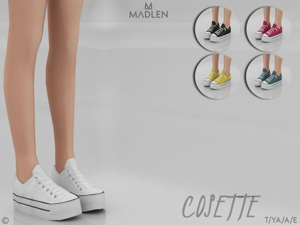 Cute Sims 4 CC (with links) - Cute Shoes (For Wome