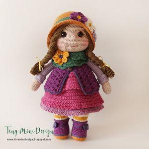 Amigurumi Arı Kız Yapılışı-Türkçe Versiyon - Tiny Mini Design #crochettoysanddolls