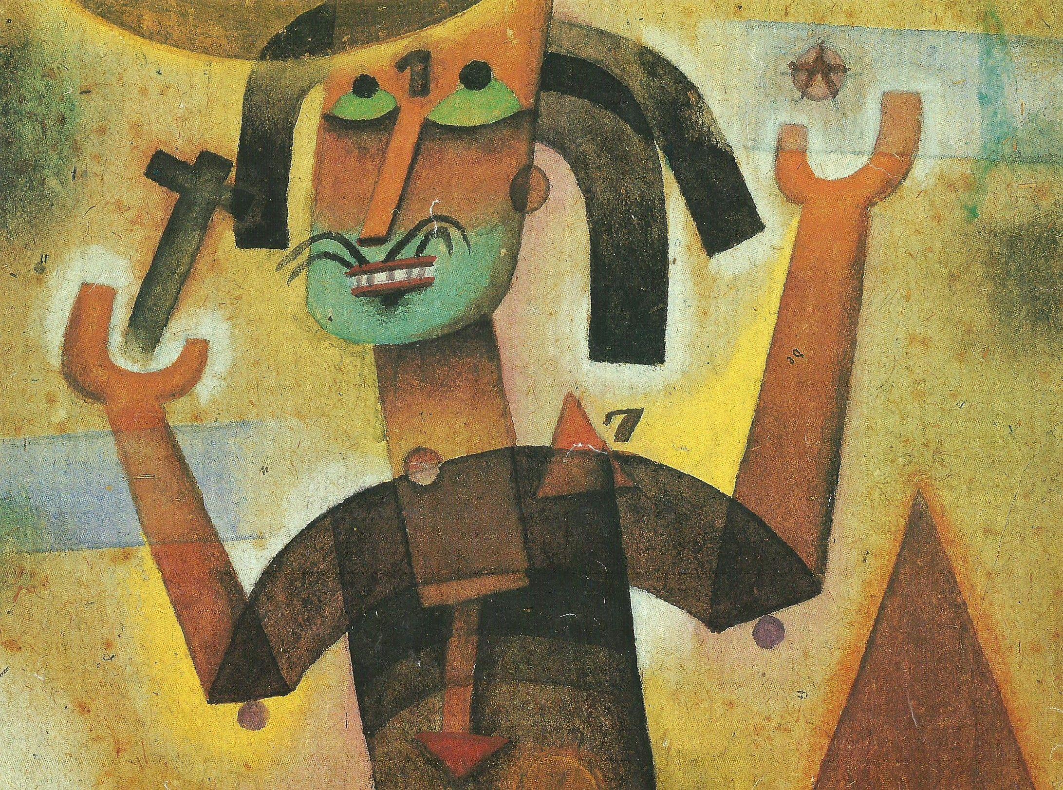 """""""El Predicador""""  Xul Solar fundada desde Buenos Aires y para todo Latino América, en 1924, la cultura de lo Surreal"""