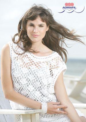 Astrid Crochet Top Free Pattern Like The Loose Drapey Fabric