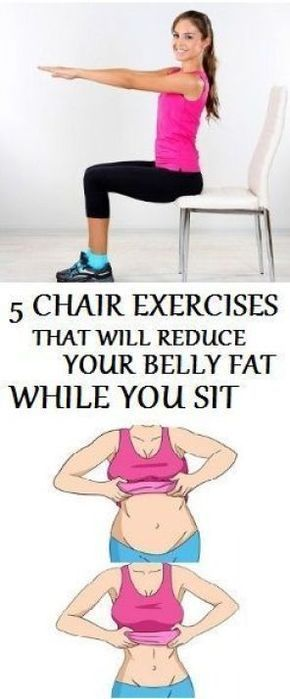 Most of the people who spend the day sitting at work should definitely try the following chair exercise as they can help you get in shape while siu2026  sc 1 st  Pinterest & Most of the people who spend the day sitting at work should ...