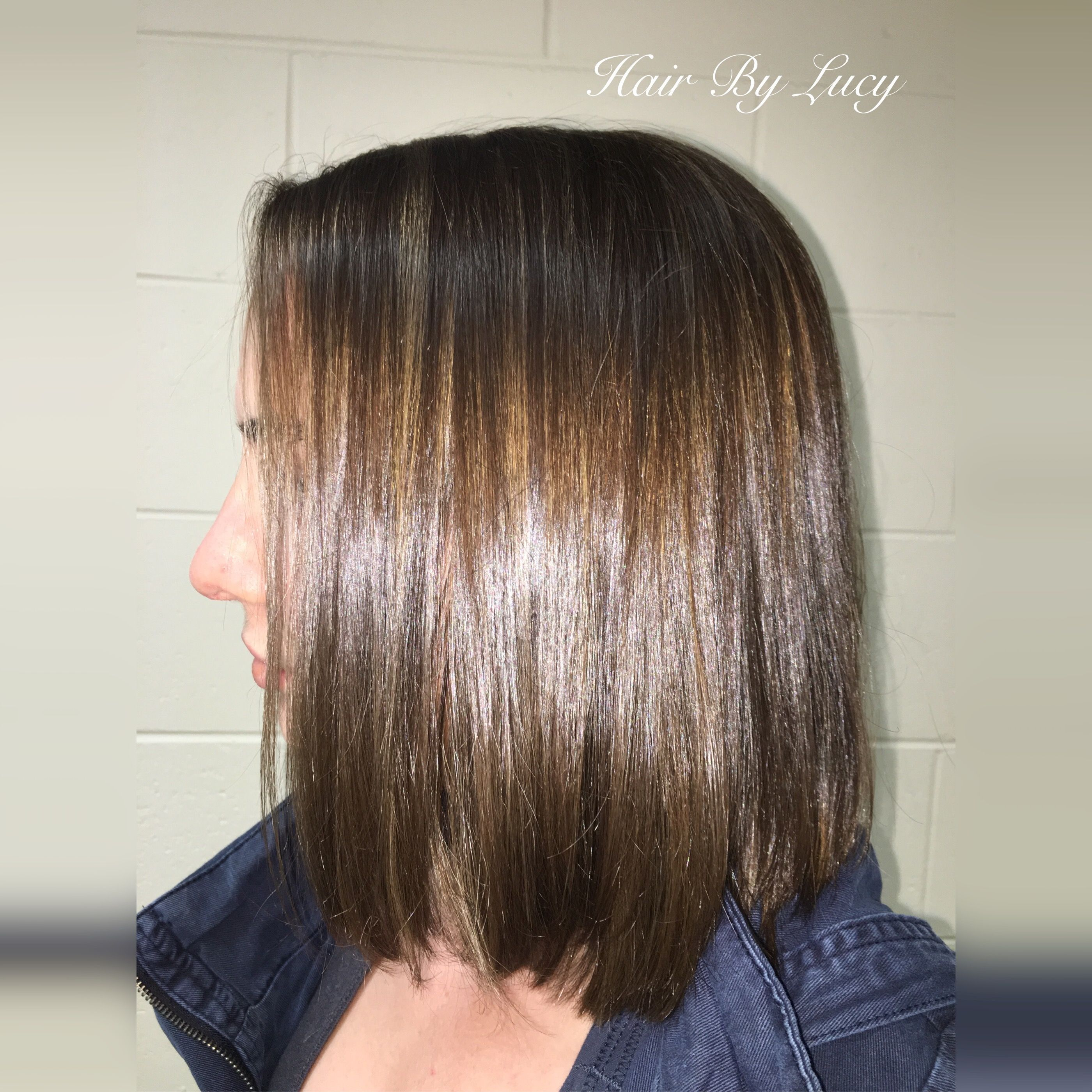 Half Head Foils Look Fab On Short Hair Too Highlights Hair Short Hair Styles Hair Styles
