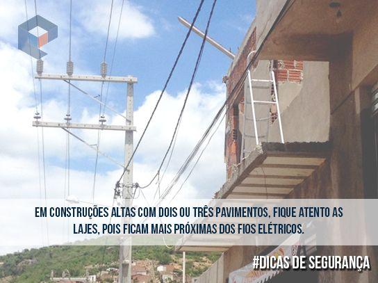 #DicasDeSegurança em construções