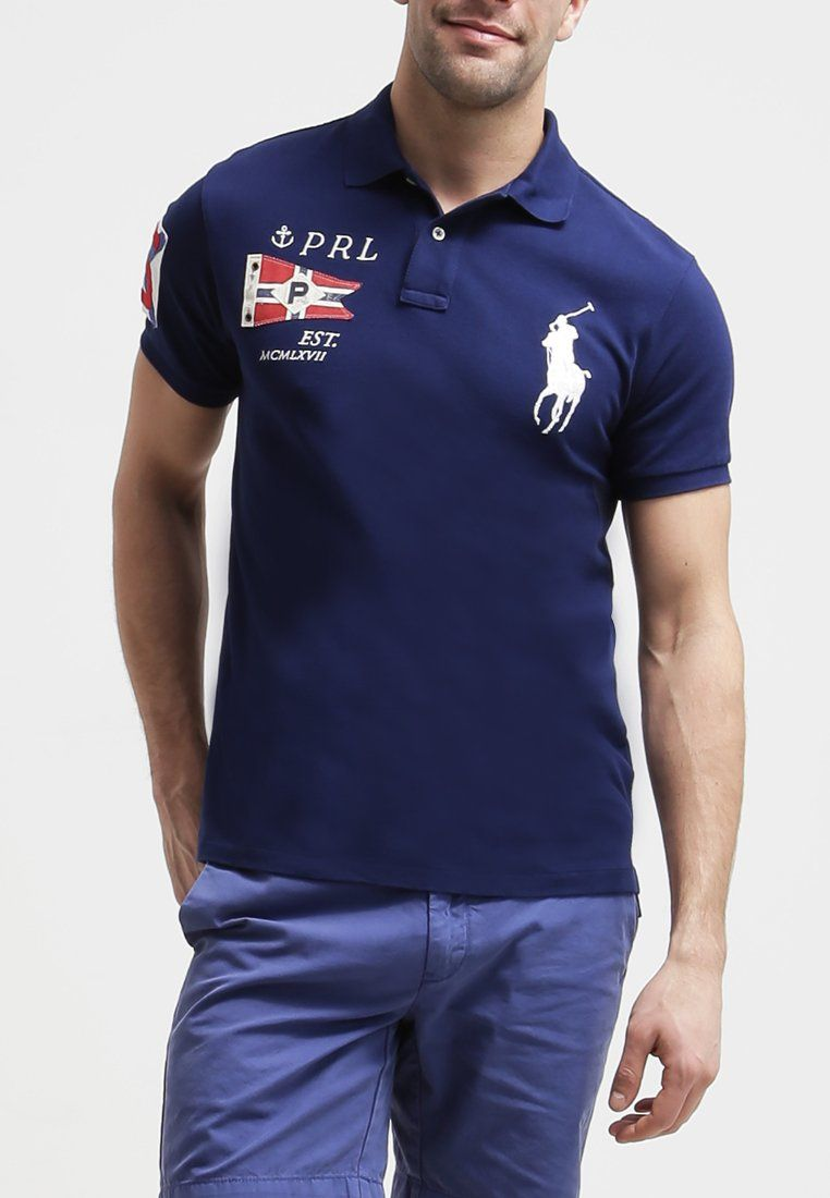 Ralph Homme Fit Slim Lauren NavyMode Polo Holiday thxodQCBsr