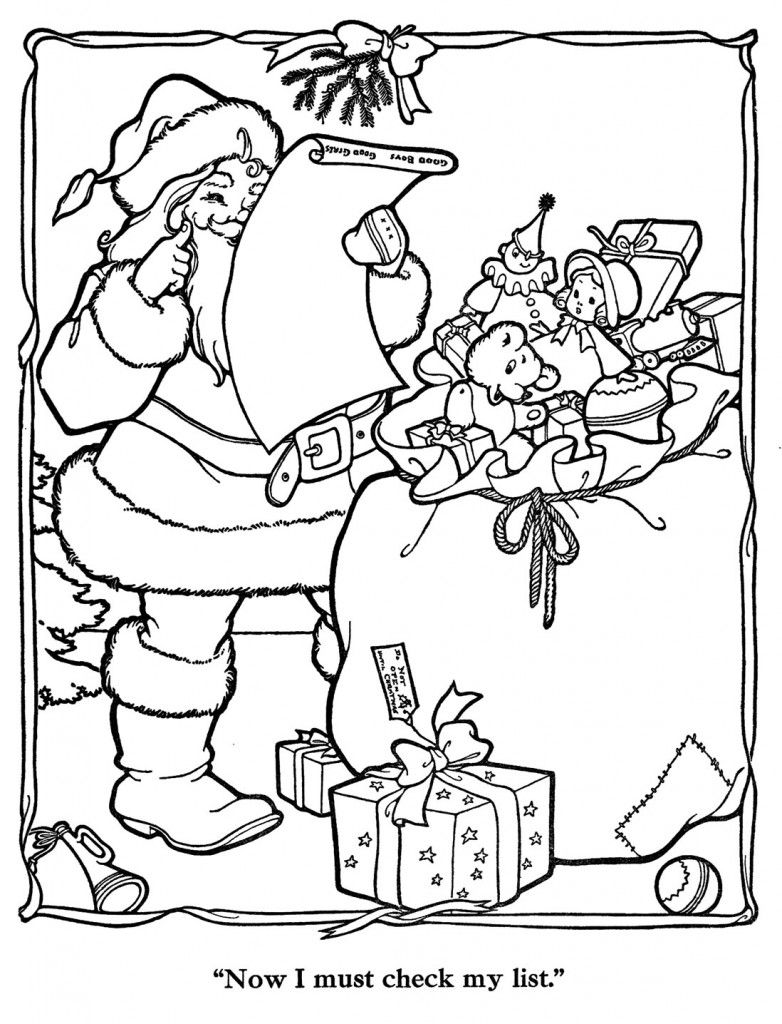 Merry-Christmas-Paint-Book-27 | Coloring Pages *Holiday | Pinterest ...