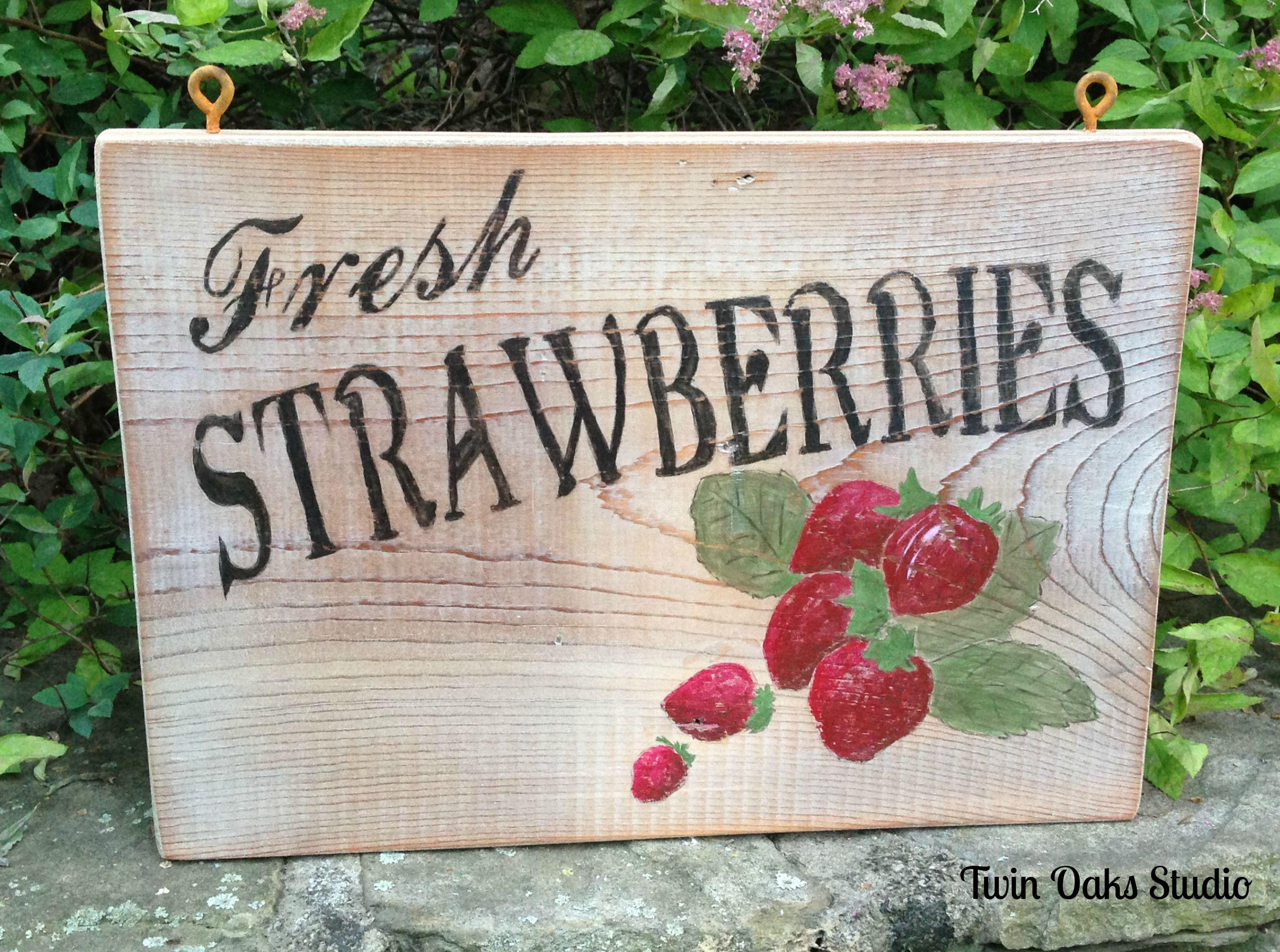 Pin von ~ Danielle D ~ auf Strawberry Fields | Pinterest | Schilder ...