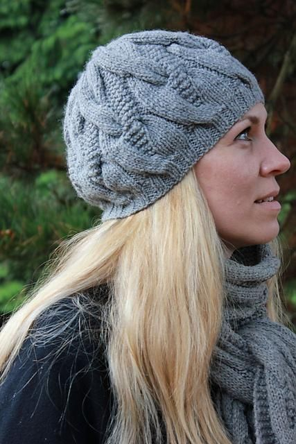 Hat Scarf With Cables For Erin Pinterest Knitting Knitted