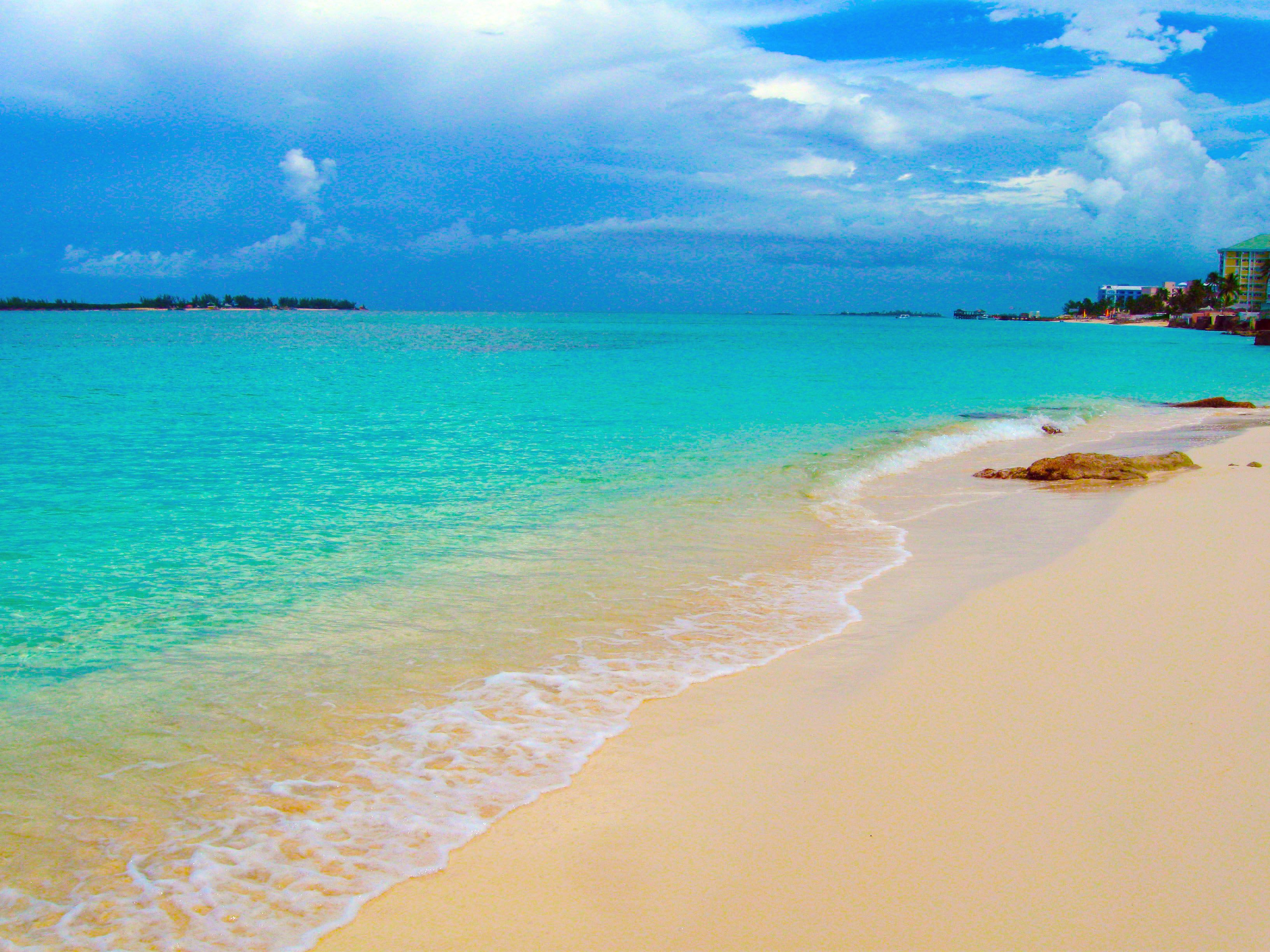 The Beautiful Weather And Crystal Clear Blue Waters Of The