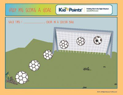 Charts for Preschoolers Kid Pointz Visual schedules - progress chart for kids