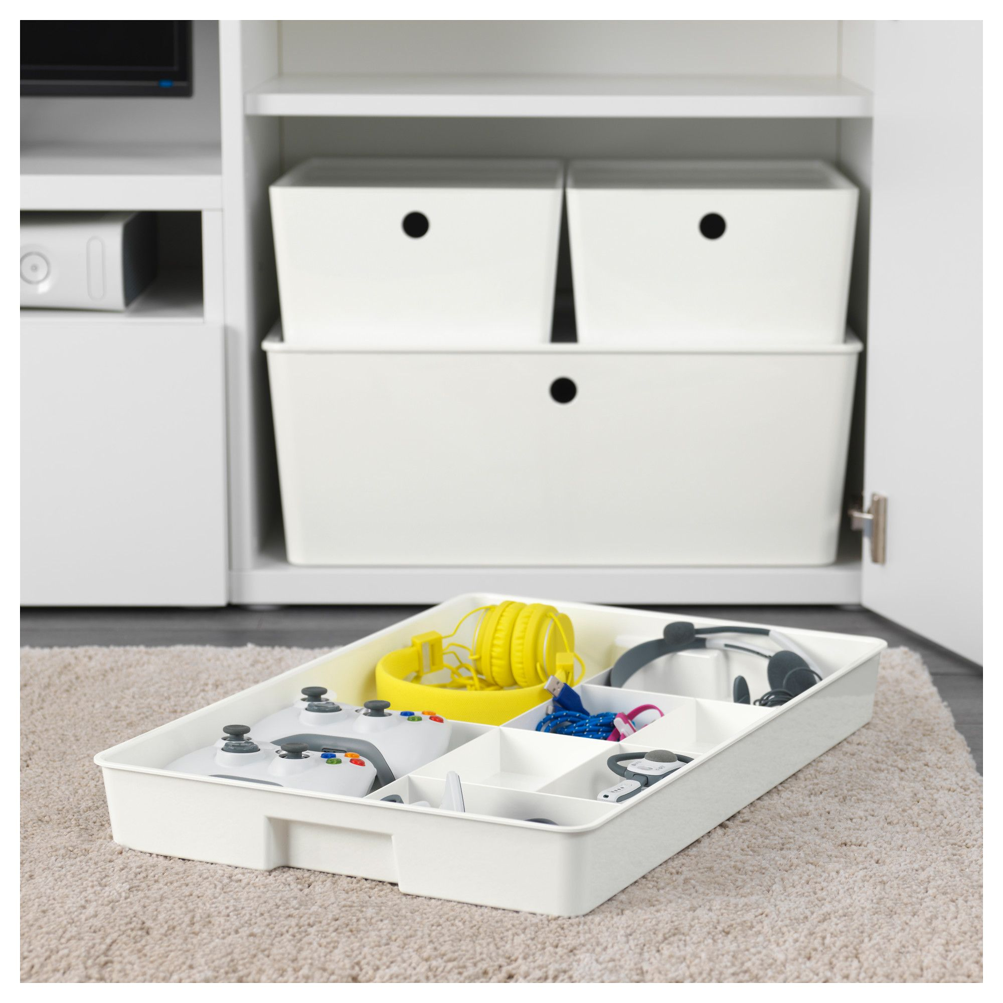 Ladeverdeler Ikea Kuggis Insert With 8 Compartments White Home Spaces Ikea