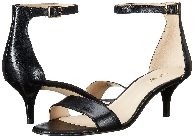 160cf17f4a83 Nine West Women s Leisa Leather Heeled Dress Sandal -- For more  information