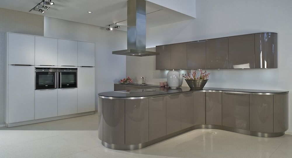 Image result for standard curved worktop on square units kitchen - häcker küchen erfahrungen