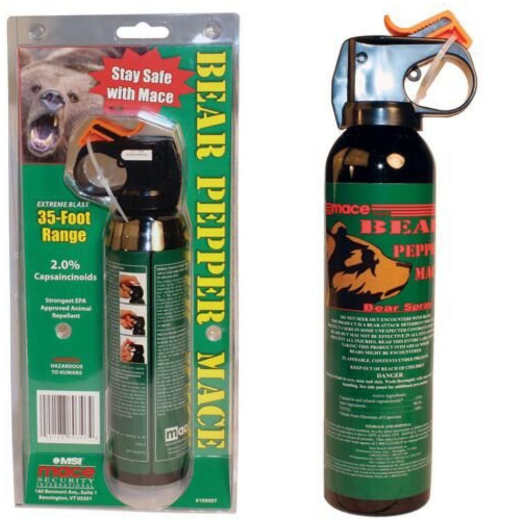 Mace Bear Pepper Spray On Sale now at www.tuffcookiezone