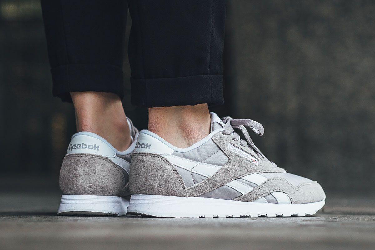 "723aba25b11 Reebok Classic Nylon ""Whispher Grey"" - EU Kicks Sneaker Magazine"