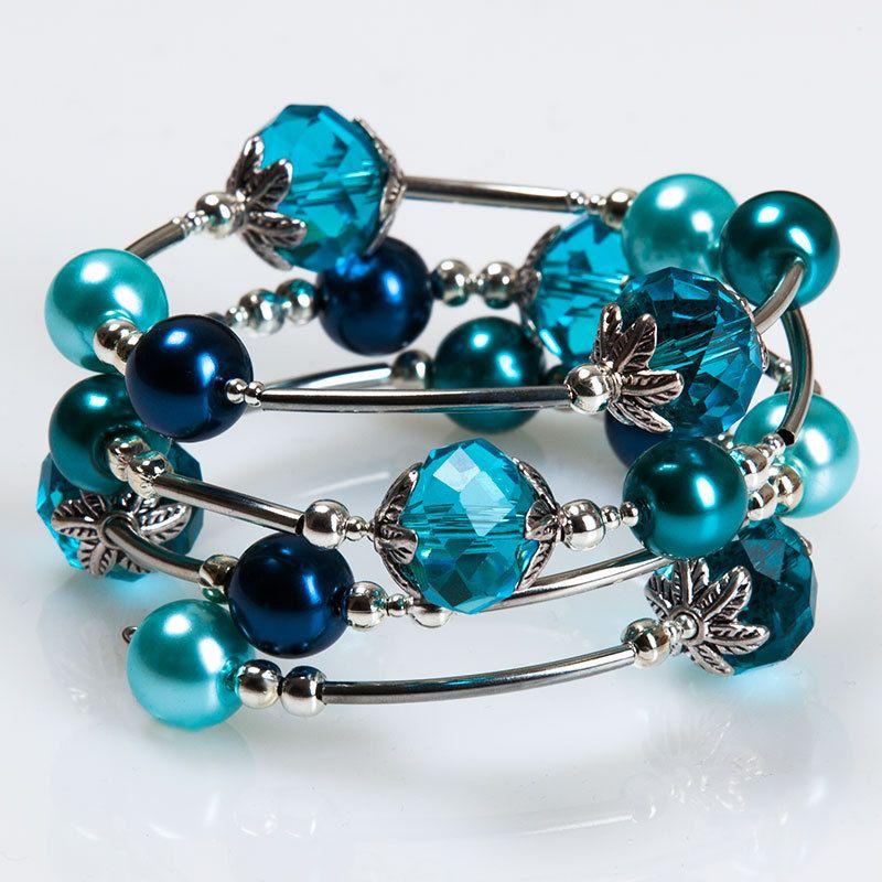 Schmuck selber machen - spiraldraht armband bastelset basteln ☆ mit ...