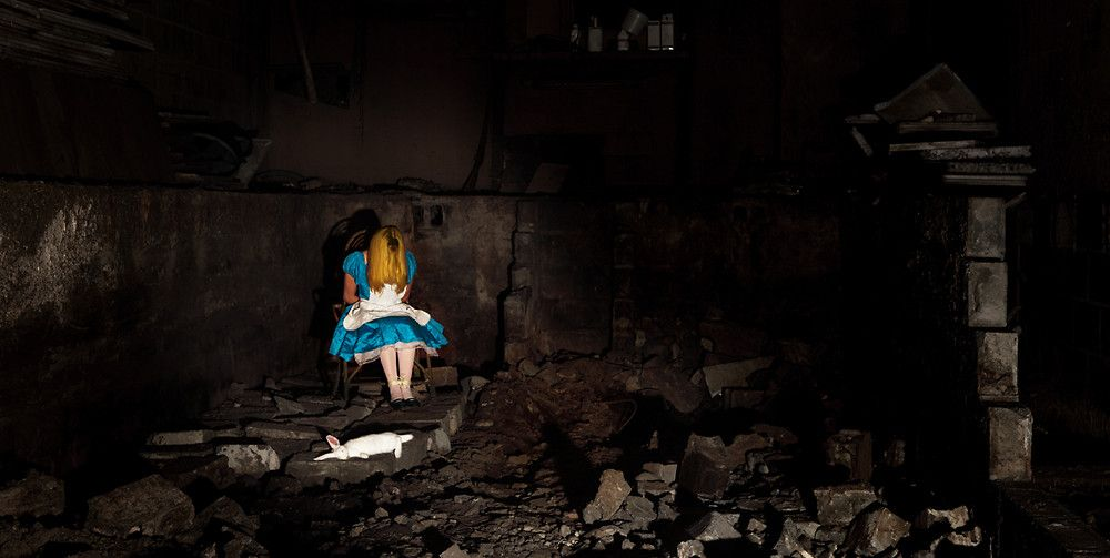 Thomas Czarnecki stages the death of the Disney princesses.  This one is by far my favorite