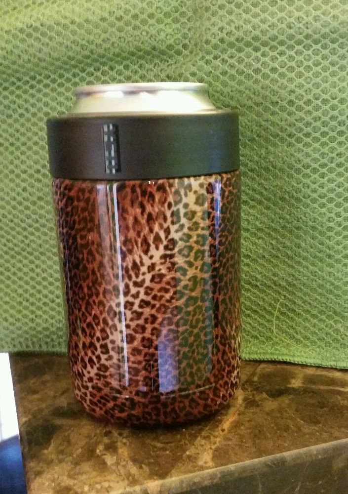 415aa3d98ff Cheetah print Yeti Cup/ Koozi | Taxidermy | Yeti cup, Ice chest ...