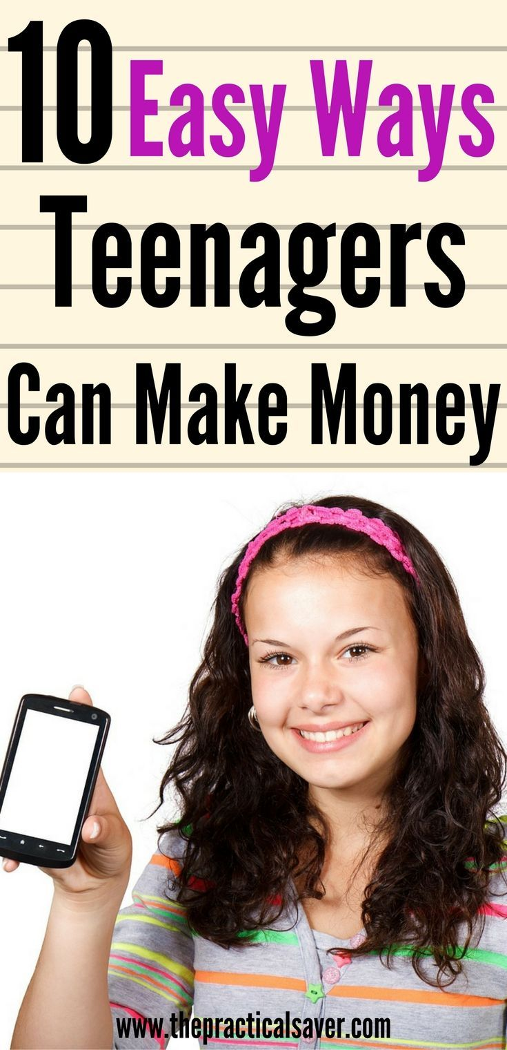 jobs for teens 7 easy ways teenagers can make money