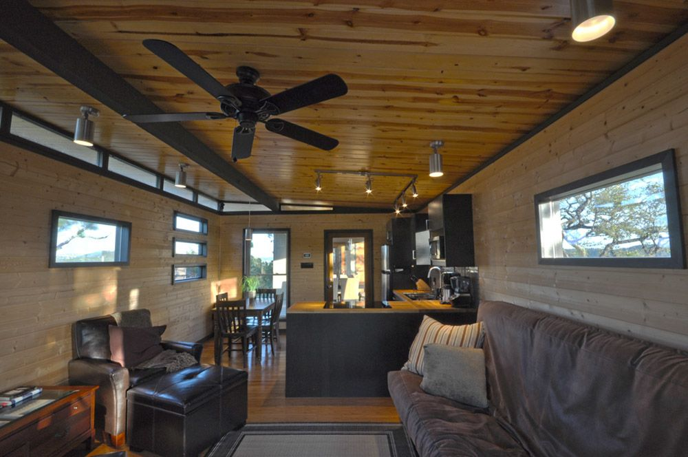 Modern cabin 14x20 14x16 marble canyon house for 14x16 living room