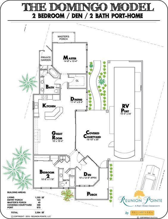 The Domingo RV Port-Home by Reunion Pointe by Bella Terra | my stuff on garage home floor plans, porch home floor plans, acadian style home floor plans, pool home floor plans, shed home floor plans, shop home floor plans,