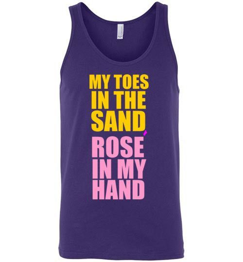 My Toes in the Sand Rose In My Hand