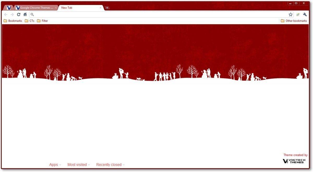 google chrome themes christmas holiday themes google chrome