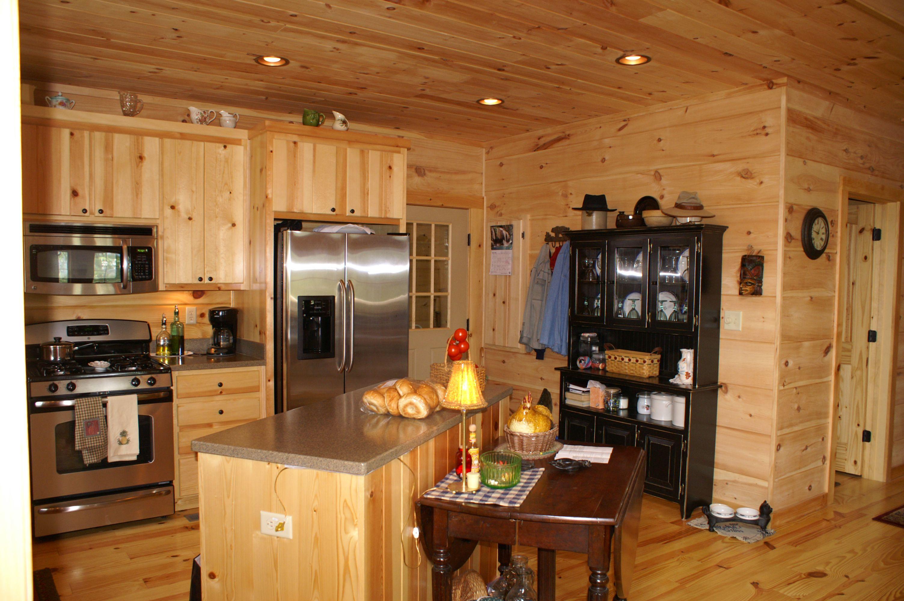 Blowing Rock Kitchen by Blue Ridge Log Cabins #kitchen ...