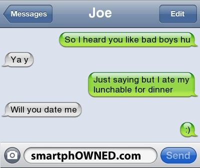 bad texting dating