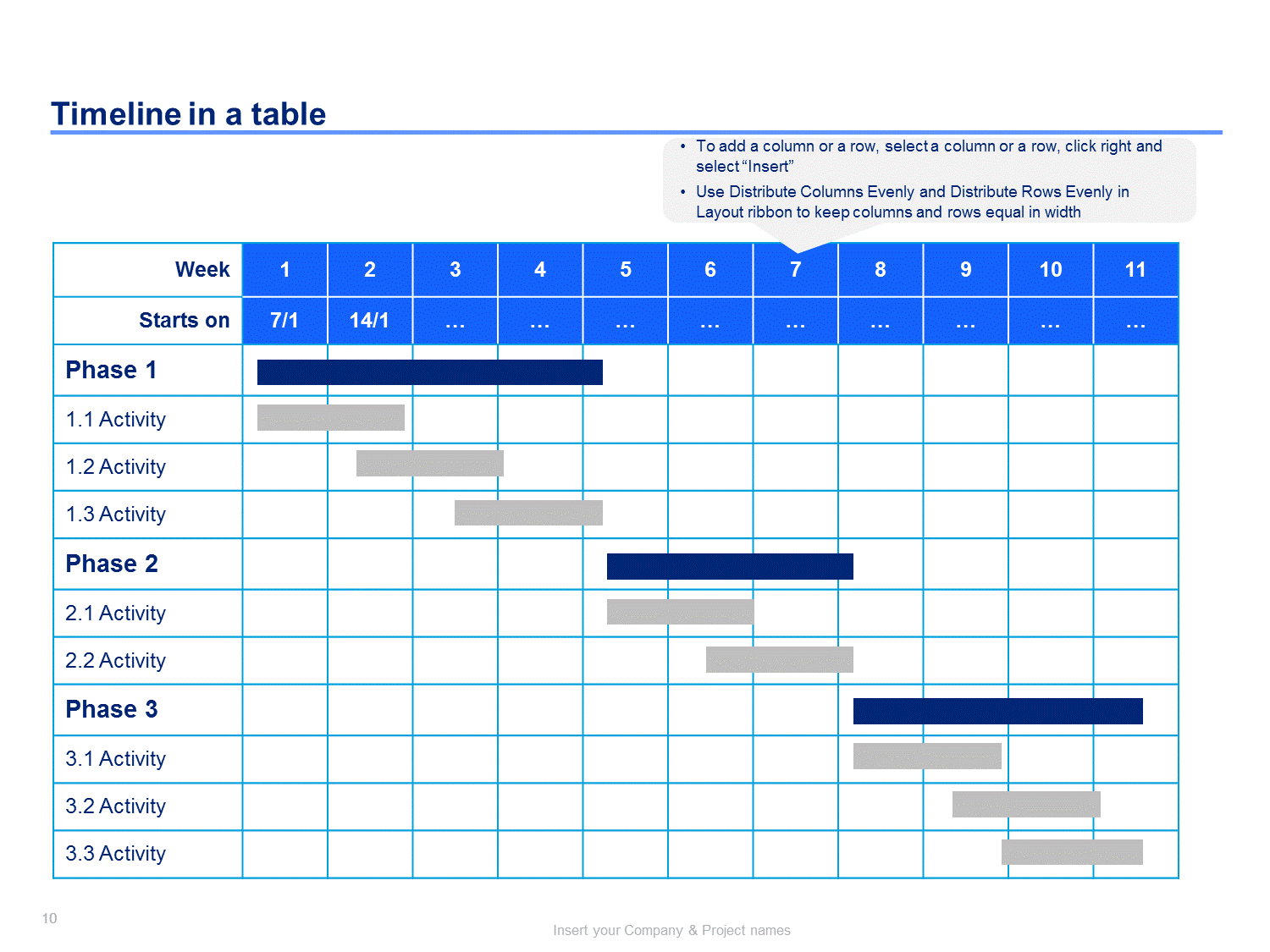Project Plan  Timeline Templates  Template Project Timeline