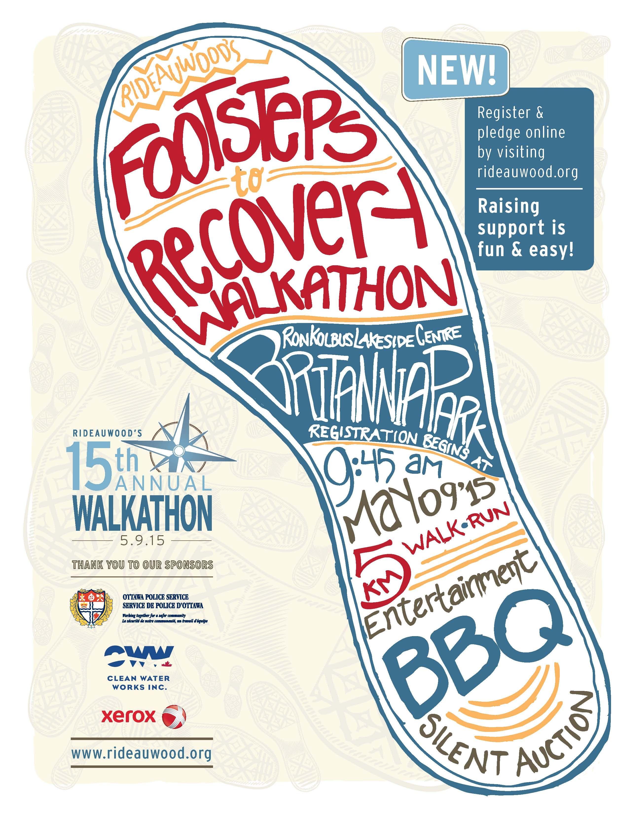 walkathon poster
