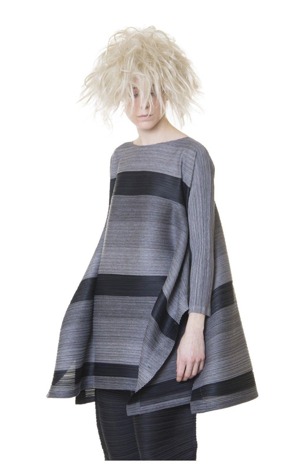 NUOVO Donna Swing Top Taglie Forti Da Donna Stampa Strisce Vestito Estate Fashion Nouvelle