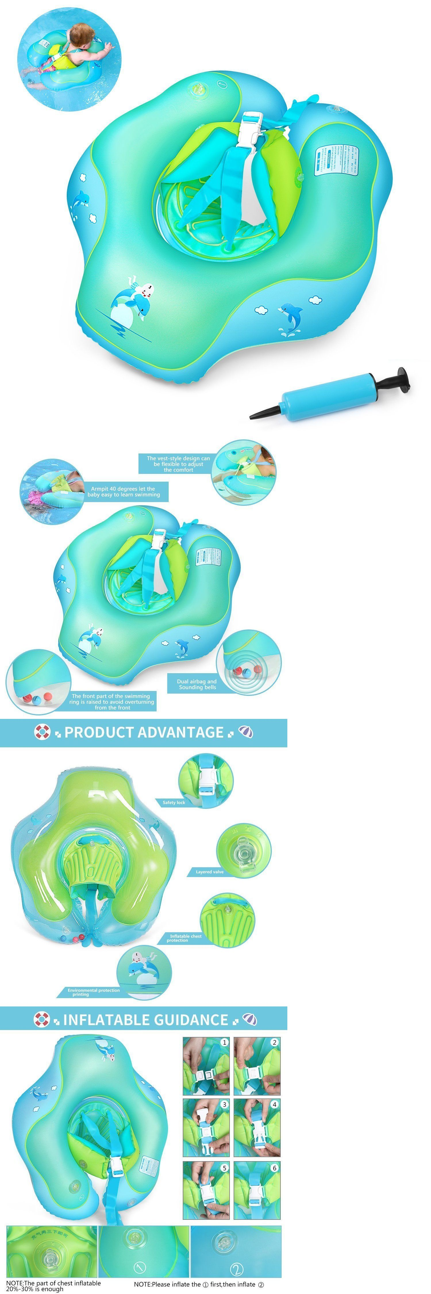 Bath Tub Seats and Rings 162024: New Free Swimming Baby Inflatable ...