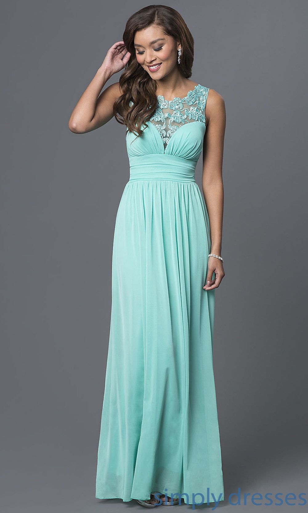 Shop for cheap prom dresses under $100 at SimplyDresses. Lace trim ...