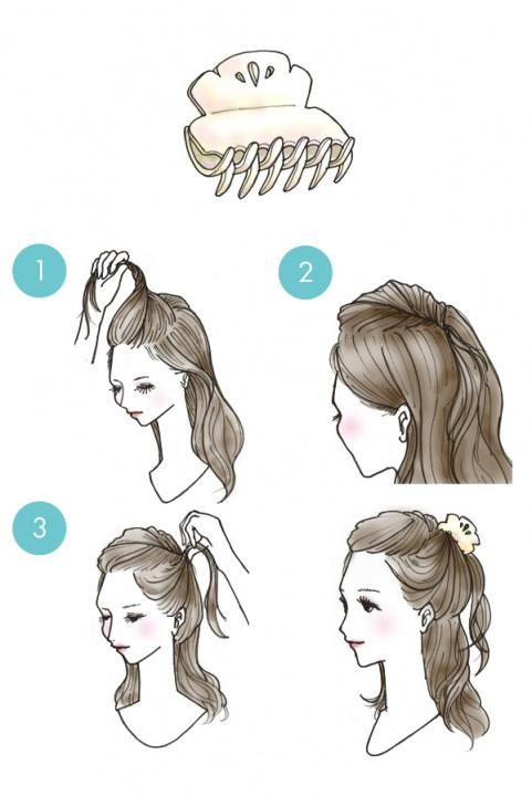 25 Absolutely Simple Diy Tips How To Style Your Hair In 3 Minutes Long Hair Styles Hair Tutorial Diy Hairstyles