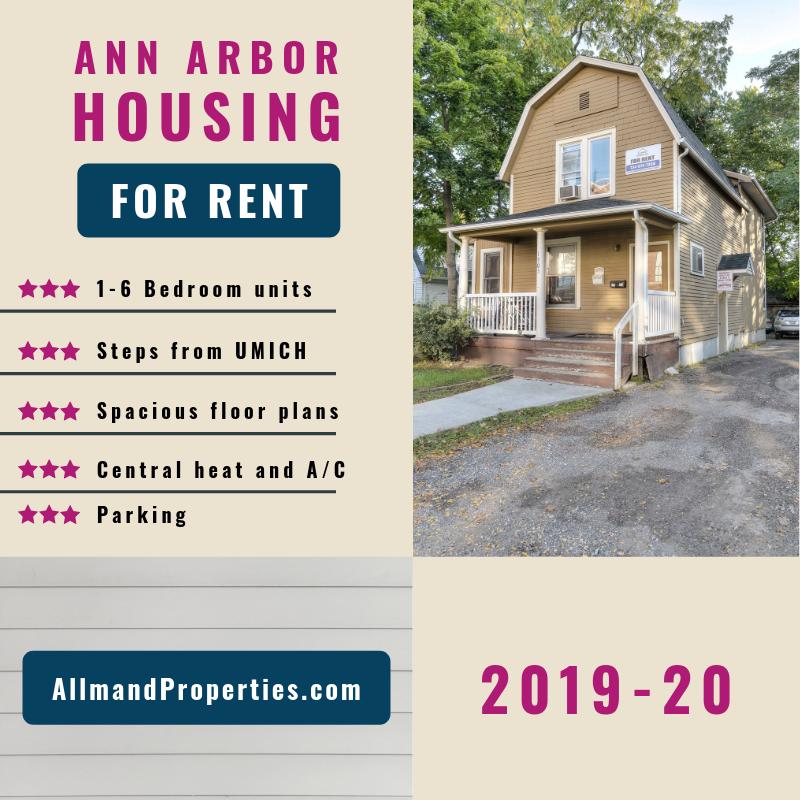 Ann Arbor Apartment Properties: Allmand Properties Offer Premium Off-campus Student