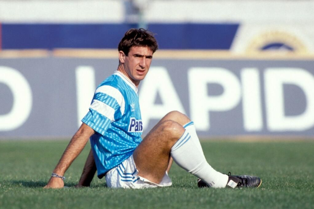 The Antique Football On Twitter Eric Cantona Football Uniforms World Football