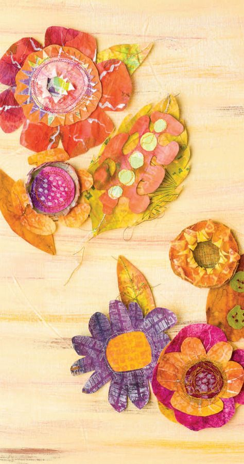 How to Make Paper Cloth Flowers Like a Pro is part of Clothes Art Flower - In this tutorial, artist Diana Trout shows you how to use muslin and paper to create a garden of paper cloth flowers in rich autumn hues