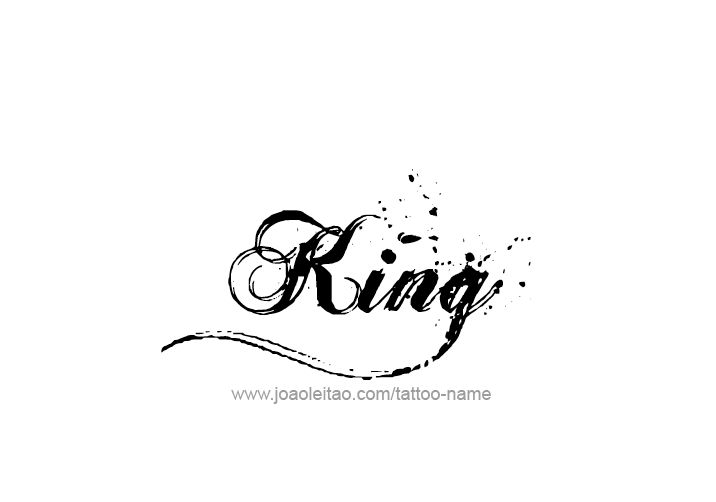 King Name Tattoo Designs King Tattoos Name Tattoo Designs Name Tattoo