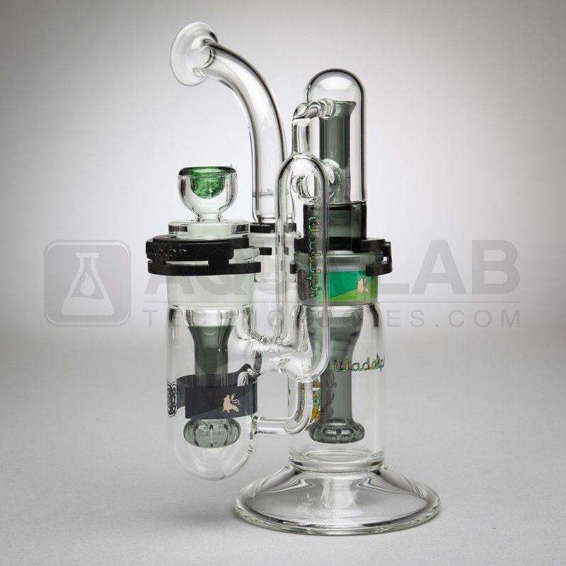 illadelph Glass Stackable Disc Perc Bong   Bongs & Smoking ...