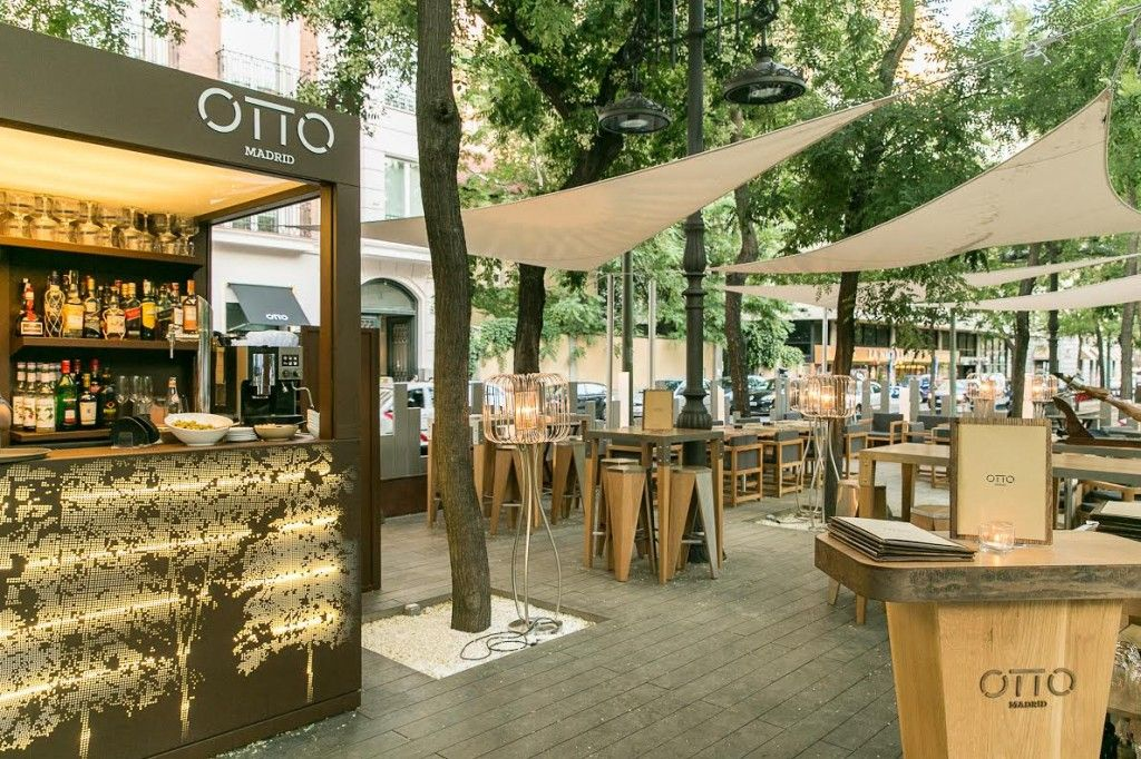Otto Madrid Terraza Cemewew In 2019 Lounge Design
