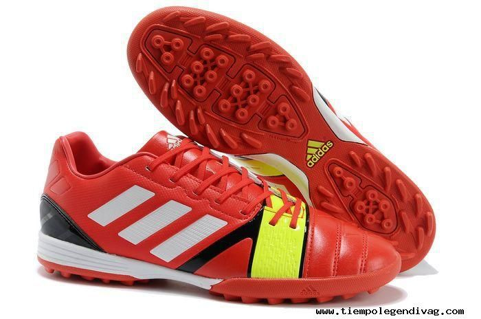 official photos 0a25e 76fce Red White Electricity Football Boots adidas Nitrocharge 3.0 TRX TF Jnr Boots