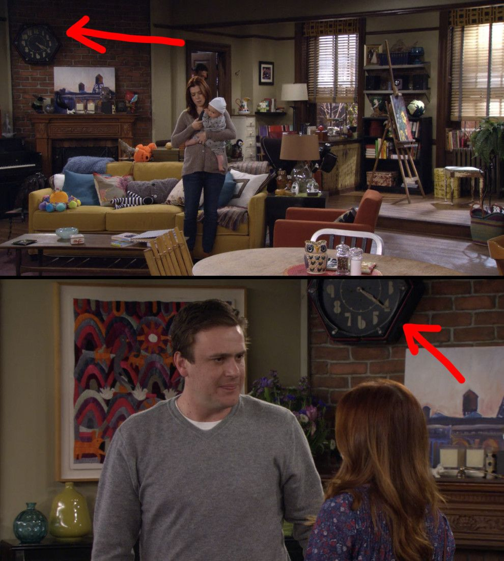 The Clock In Lily And Marshall S Apartment Always Reads 4 20 Com