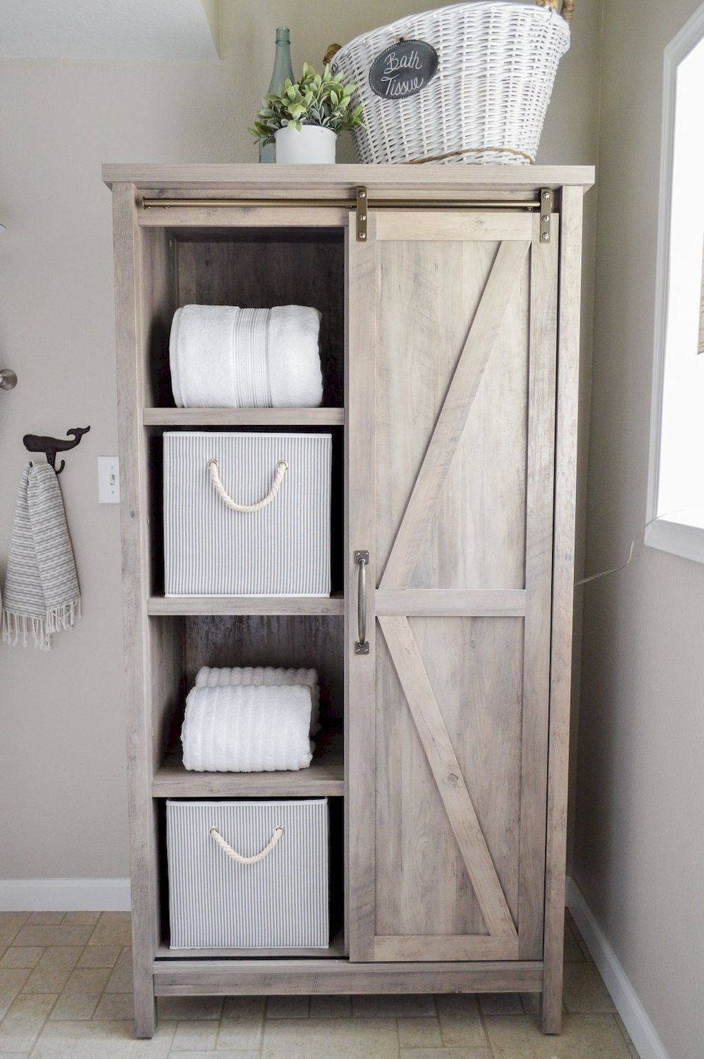 Free Standing Bathroom Cabinets Ideas With Images Farmhouse