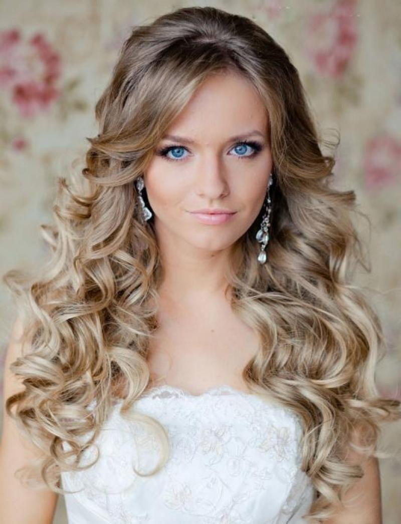 تسريحات عروس 2013 | travel | long bridal hair, curly wedding