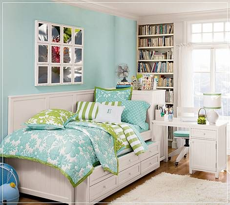 I Am Gonna Redo My Room This Summer And Thinking Of Many Ideas For My Room.  Love This One A Lot