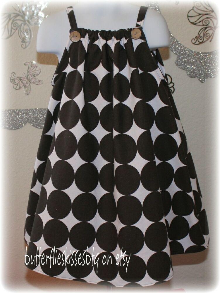 Handmade girls toddlers dress size 5T black