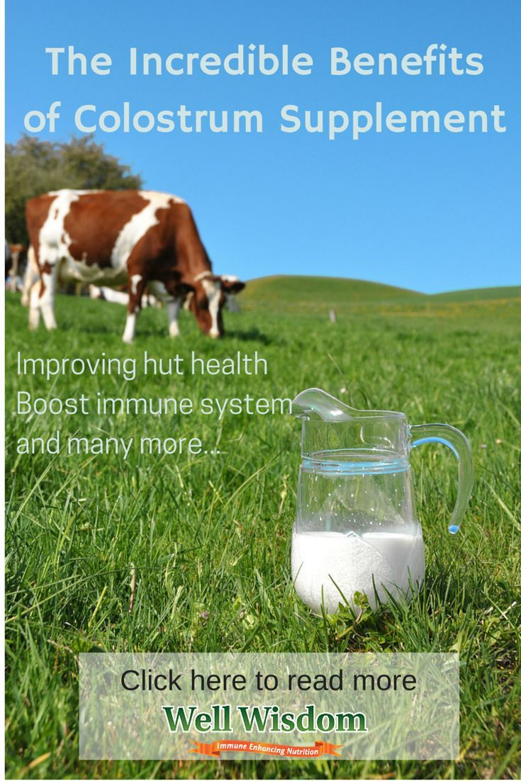 what are the benefits of colostrum supplements