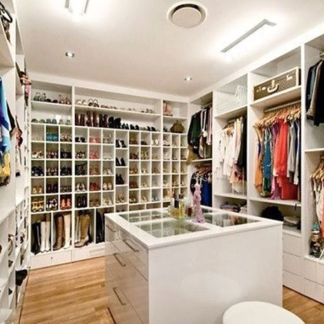 One day I'll have a closet like this!